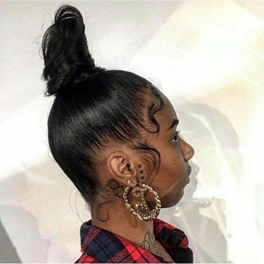 Pinterest @teethegeneral (natural hair styles protective black girls)