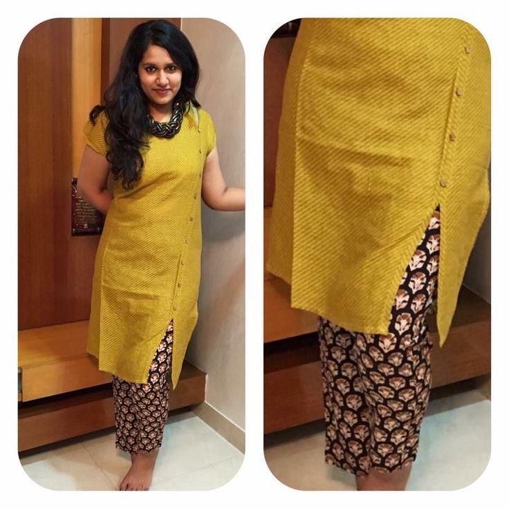 Lovely yellow kurta