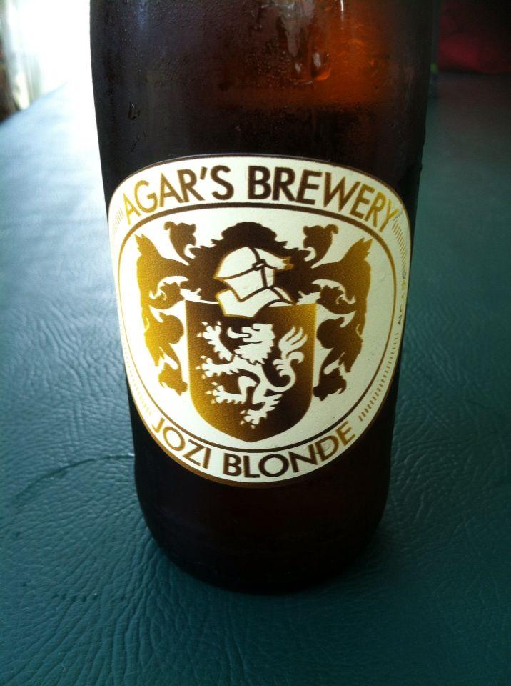 Agar's brewery- Jozi Blonde