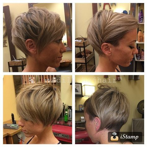 "2,549 Likes, 169 Comments - Justin Dillaha (@dillahajhair) on Instagram: ""@julia_foronda new cut. Thank you friend, always a pleasure :) #hair #haircut #hairstyle #shorthair…"""