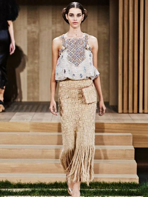 The spring/summer 2016 haute couture collection from Chanel