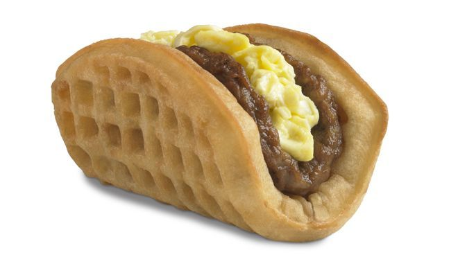 Taco Bell takes on McDonald's as its breakfast Waffle Taco goes nationwide