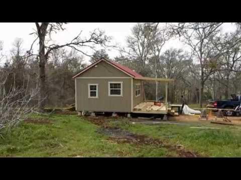 Derksen Side Utility Portable Building With Dormer By