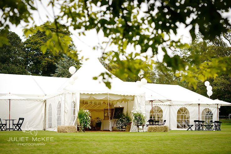 Country marquee wedding.