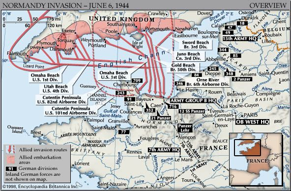 d day allied invasion of fortress europe