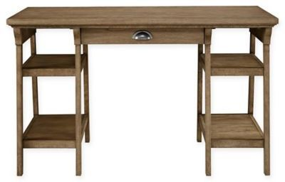 Stanley Furniture Stone & Leigh by Driftwood Park Desk in Sunflower Seed