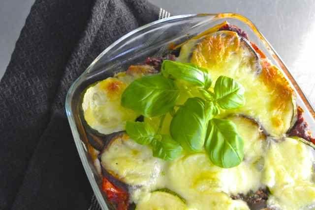 Lasagne met gegrilde groente 11