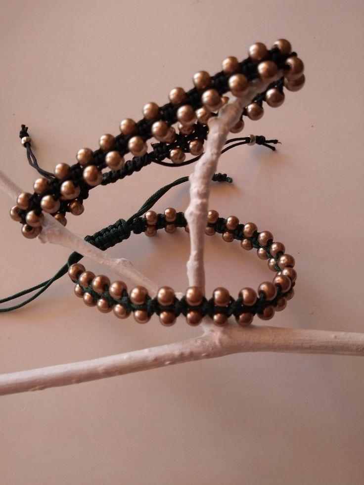 Beads#makrame design#winter 2017