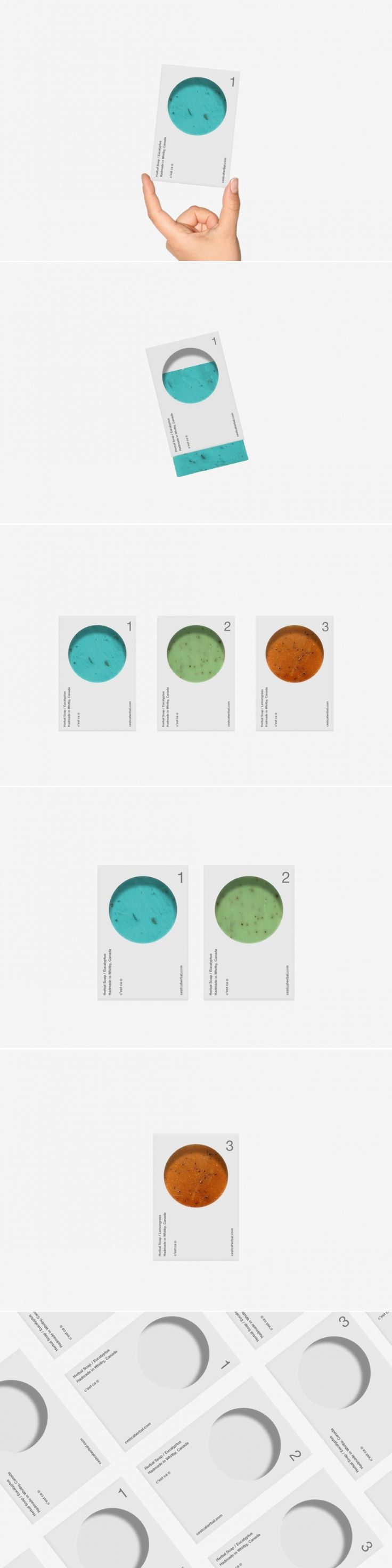 C'est Ça Herbal Soap — The Dieline - Branding & Packaging Design