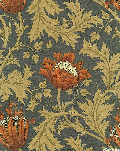Morris & Company - Wildwood Flower - Black