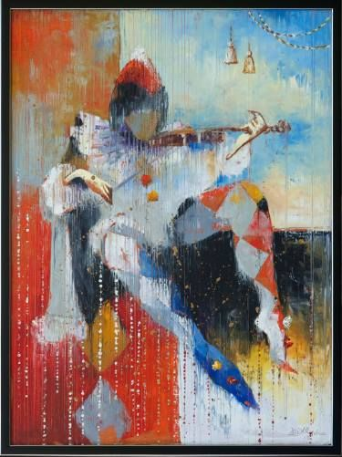 "Saatchi Art Artist Anna Ravliuc; Painting, ""Sonata in the Rain"" #art"