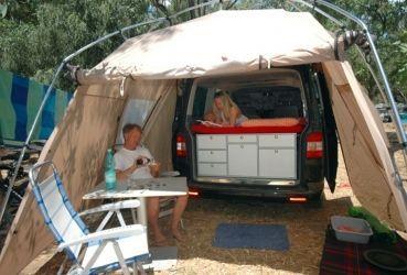 vorzelt drive van von vaude vorzelt wohnmobil campingbus und camping ausbau. Black Bedroom Furniture Sets. Home Design Ideas