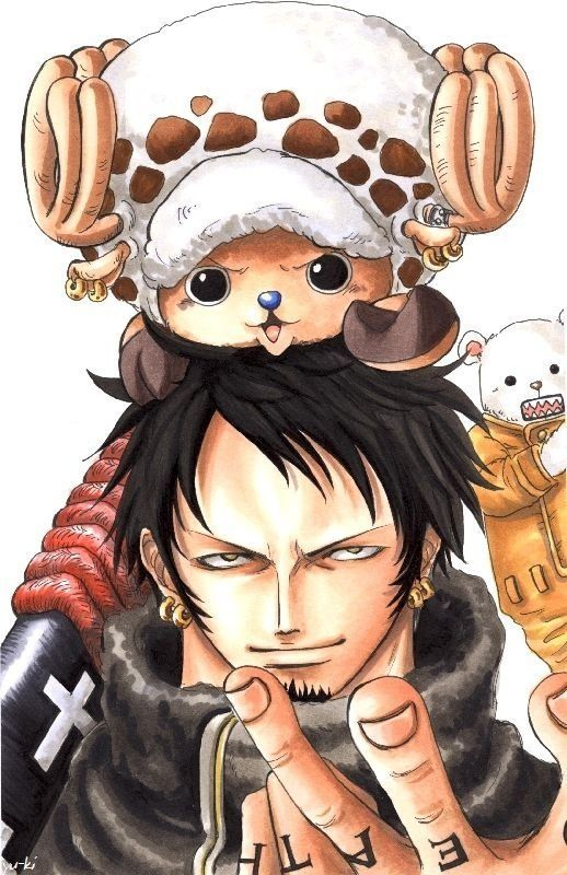 and this moment as tied him to the head Chopper :D so it looks like a ,, normal life,, in the crew straw