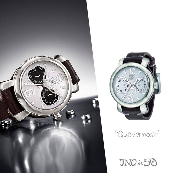 #UNOde50 #WATCHES #DoubleCheck #New #One #Musthave #UNISEX #Statement #Quality