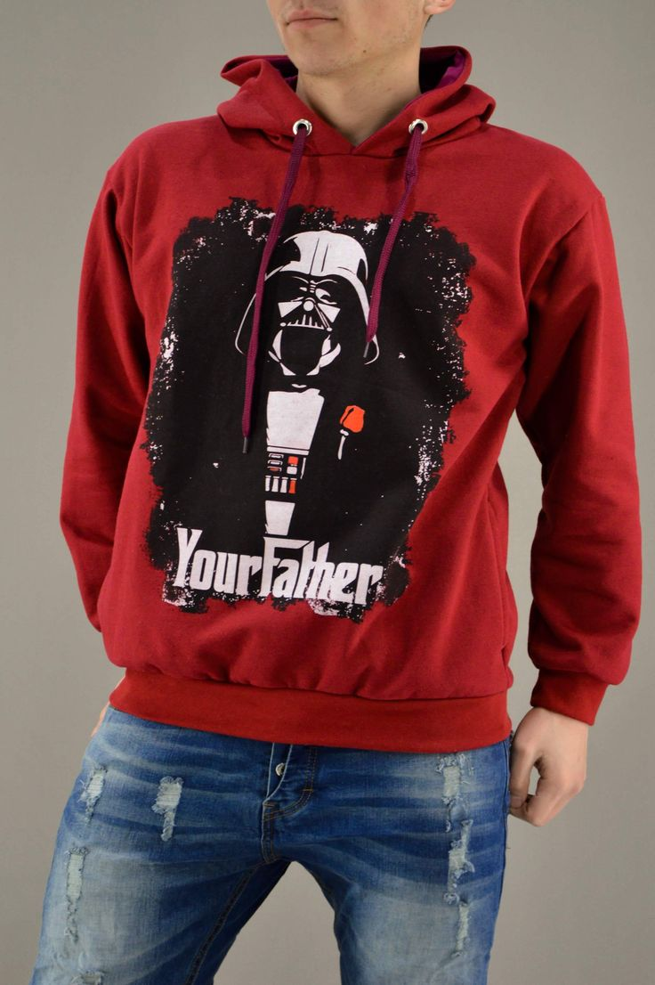Ανδρικό φούτερ Υour Father FOUT-1217-bu | Φούτερ > Sport &