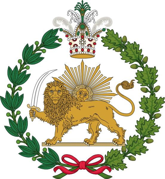 Imperial Emblem of the Qajar Dynasty (Lion and Sun)  Date	17 November 2012, 20:01:27  Source	Own work  Author	Sodacan