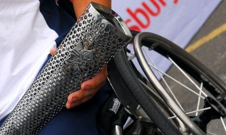 Paralimpiadi Londra 2012: la torcia rompe con la tradizione e si fa in 4. Apertura il 29 agosto