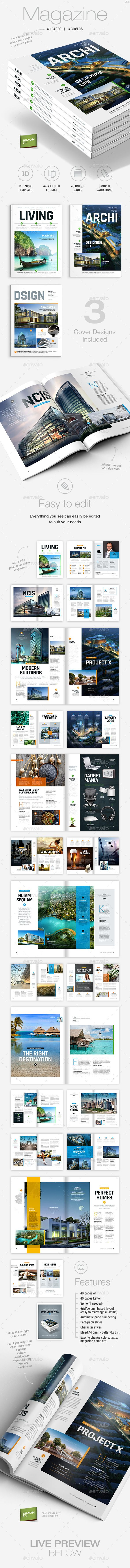 Best Magazine  Grids  Templates Images On