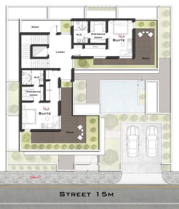 مخططات فلل On Twitter In 2021 Family House Plans My House Plans Architectural Design House Plans