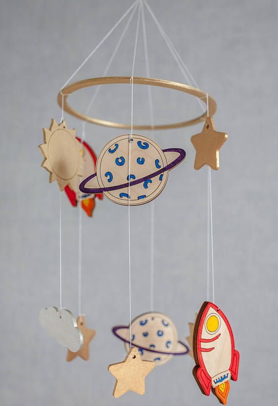 Space Baby Mobile Celestial Planets Mobile Baby Mobile Space