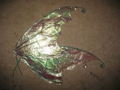 Dragon fly/insect wings. DIY. Make fairy wings. Woodland fairy costume.