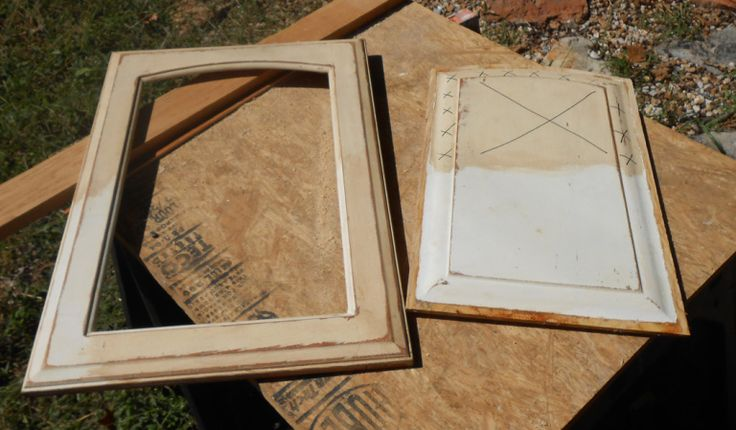 DIY Changing Solid Cabinet Doors to Glass Inserts   Diy ...