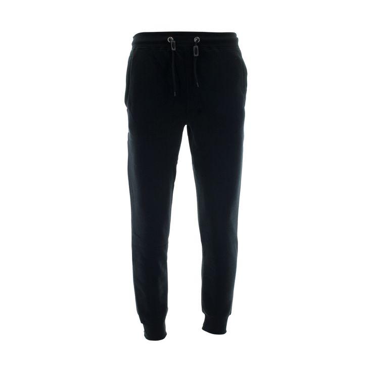 Skazi New York - Men's 250 Gsm Solid Basic Fleece Joggers - Black