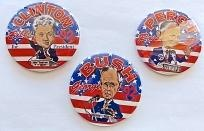 1992 PRESIDENTIAL ELECTION BUTTONS ~ MINT ~~ FREE SHIPPING ~~