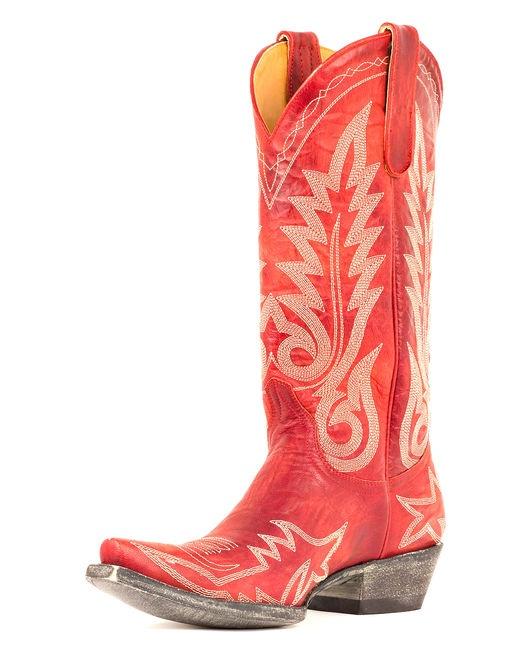 Women's Nevada Boots - Vesuvio Red