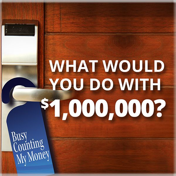 What Would You Do With $1,000,000?Now through 9/15, enter for a chance to win up to $1,000,000! 2 winners will each receive a $500 debit card and travel for 2 to the Event Prize Drawing, with a chance to win up to $1,000,000 at http://wyndhamrewards.com/win/. No purchase necessary. See Official Rules at http://gl1.wyndhamrewards.com/win/rules.html