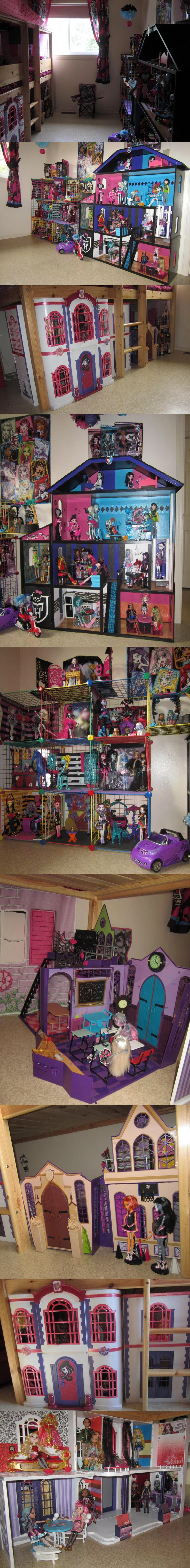 Monster High / Ever After High Bedroom