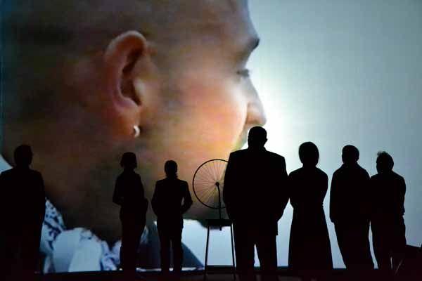 """"""" #Pantani """" di Marco Martinelli - Teatro delle #Albe/Ravenna Teatro. Foto di Fagio. 1 e 2 marzo al Teatro Storchi di #Modena; il 4 e 5 marzo a Pubblico il Teatro di #Casalecchio di Reno"""