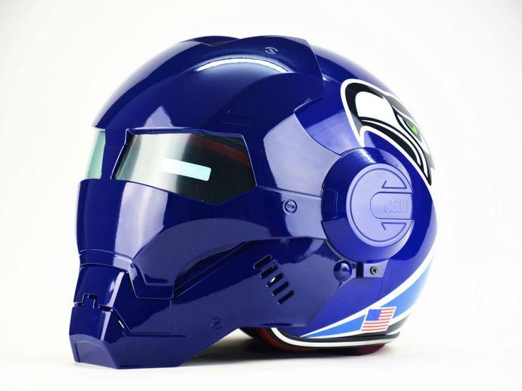 Masei ktm bike scooter moto Seagull helmet Iron Man helmet motorcycle helmet half helmet open face helmet motocross freeshipping