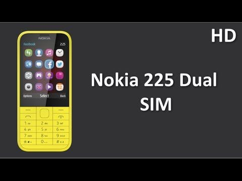 Nokia 225 Dual SIM Comes with 2.8 Inch LCD QVGA Display, 2.0 MP Camera, Twitter, Facebook