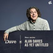 Alan Davies As Yet Untitled by Dave