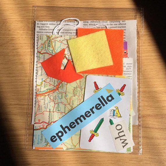Ephemera Kit who   20 pezzi