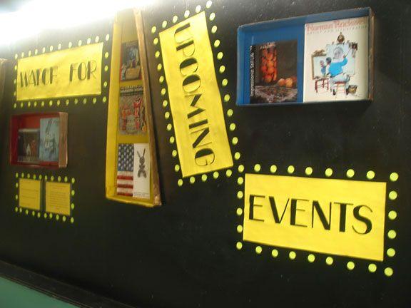 Best 25 movie bulletin boards ideas on pinterest for Creative notice board