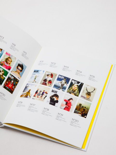 Le MilK Anniversary Book est disponible! Préface par Stella McCartney!