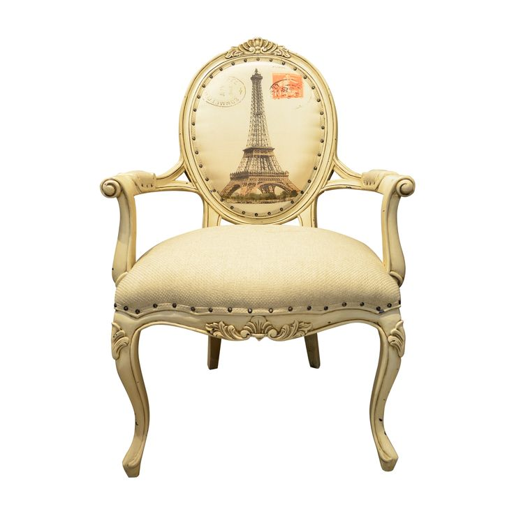 French Arm Chair A Beautiful Vintage French Arm Chair Reveals The Elegant  Looks For Your Classic Decoration. Feel The Comfort Of The Design To  Complete Your ...