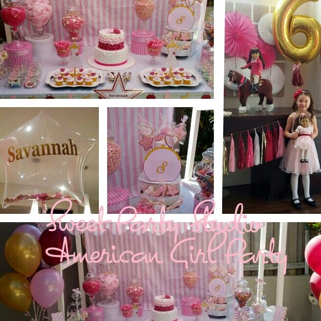 Sweet Party Studio American Girl party.