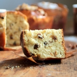 Almond Ginger Easter Bread by VintageKitchenNotes