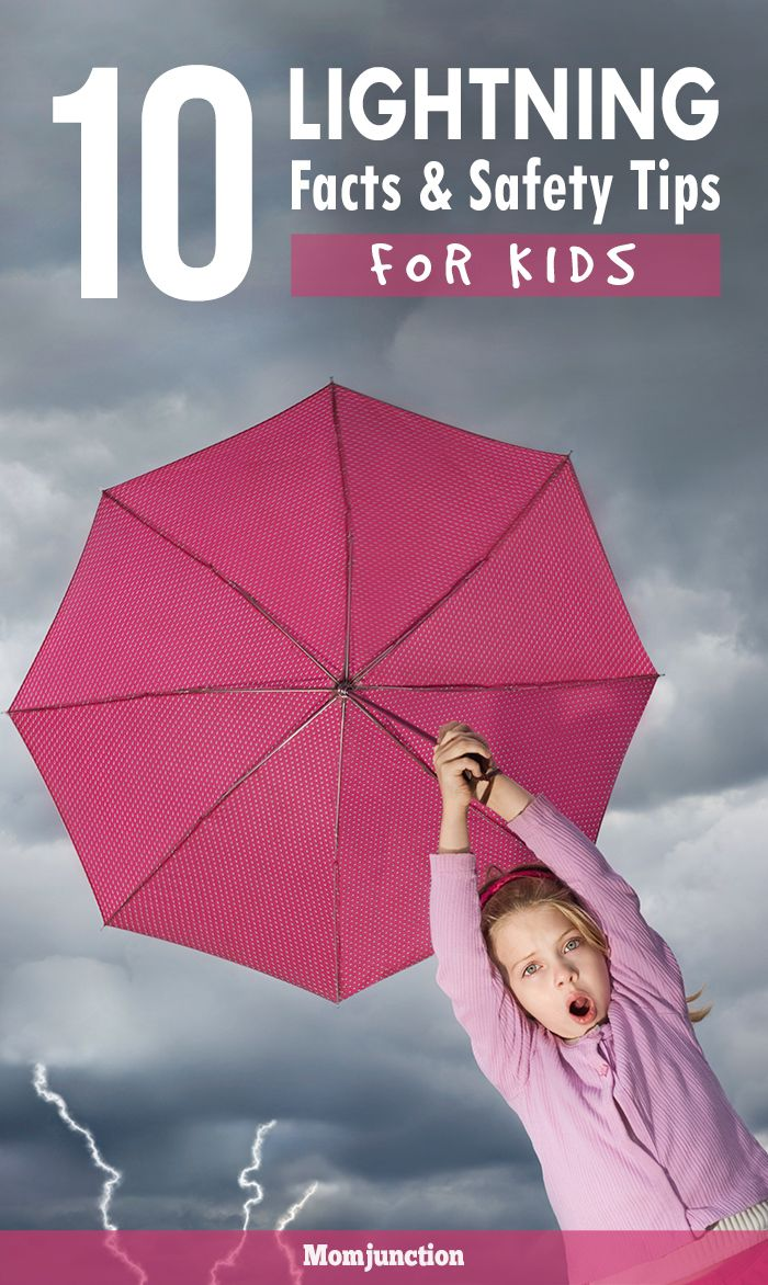 10 Lightning Facts And Safety Tips For Kids: learn various amazing lightning facts and safety tips to satisfy your kid's curious mind. #Parenting