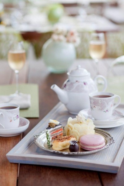 Winelands Tea at La Motte Franschoek something to look forward to while staying a t La Clé des Montagnes.