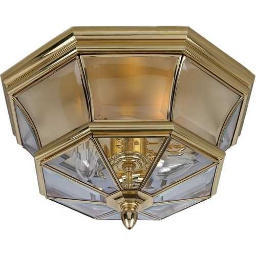 96 best june outdoor lighting sale images on pinterest lighting outdoor ceiling light with clear glass in polished brass finish mozeypictures Images