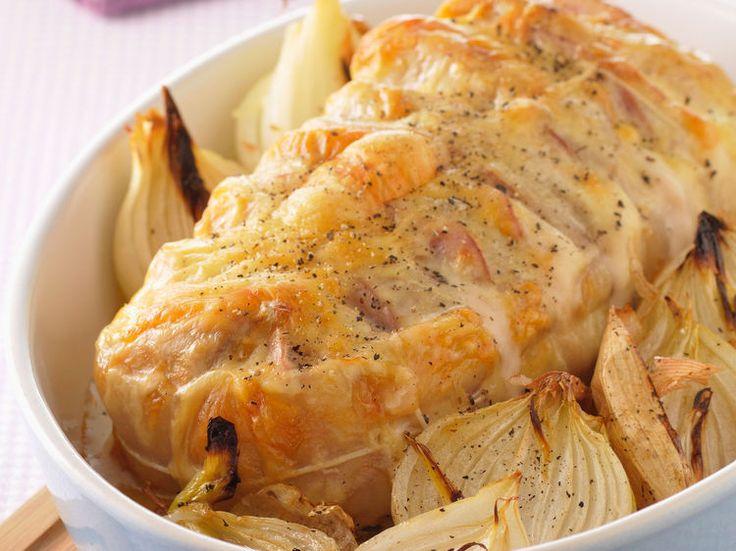 Découvrez la recette Rôti de porc orloff sur cuisineactuelle.fr.