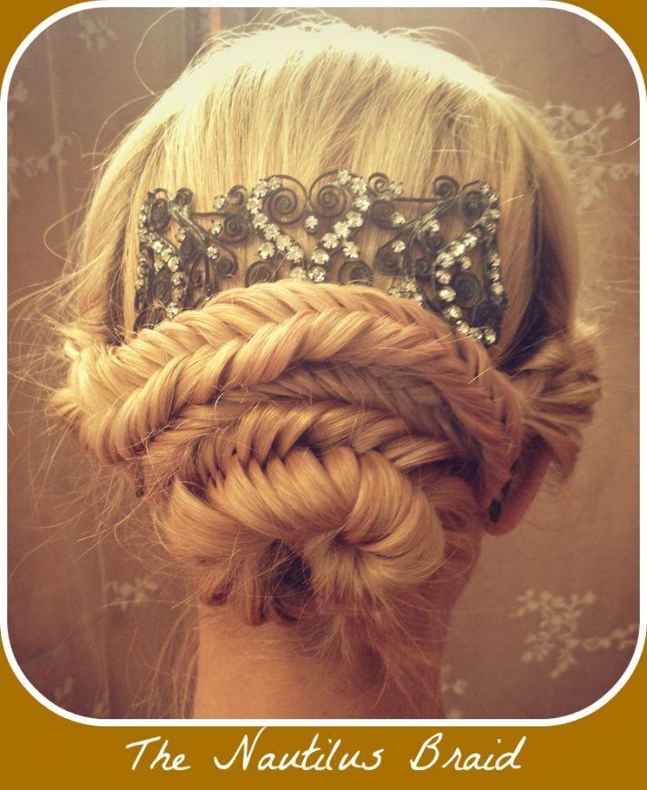 Wedding Hairstyle Tutorials: 17 Best Images About Wedding Hair On Pinterest