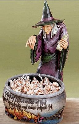 Jim Shore, Witch's Brew - Witch with Cauldron FigureBrew Witches, Halloween Witches, Jim Shore Halloween, Cauldron Figures, Jim Shorehalloween, Double Toile, Shore Collection, Brew Cauldron, Witches Brew
