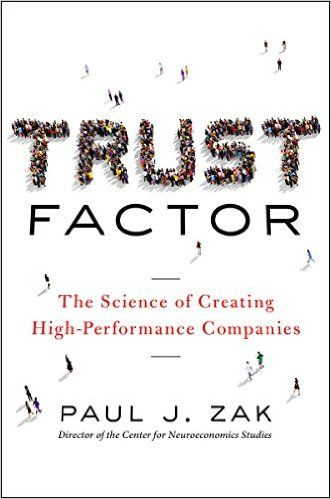 When someone shows you trust, a feel-good jolt of oxytocin surges through your brain and triggers you to reciprocate. This simple mechanism creates a perpetual trust-building cycle--the key to changing stubborn workplace patterns. Drawing on his original research, Zak teases out science-backed insights for building high-trust organizations.