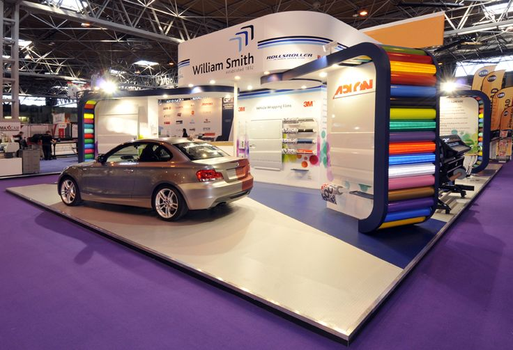 William Smith exhibition stand at Sign and Digital, NEC, Birmingham