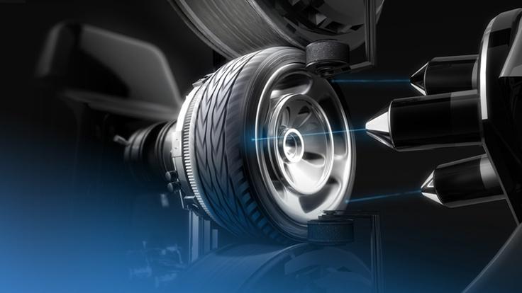 Toyo Tyres Laser Ad